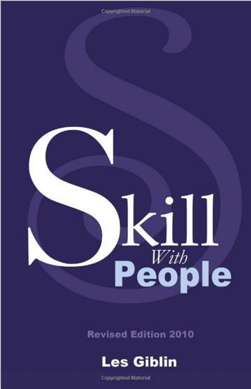 Skill With People By Les Giblin Effective Communication Skills People Skills Books