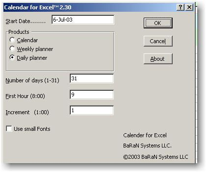 Create Planners With Excel Daily, Weekly and Monthly Planners