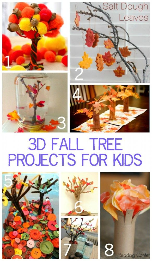 Image result for 3d autumn tree art eyfs