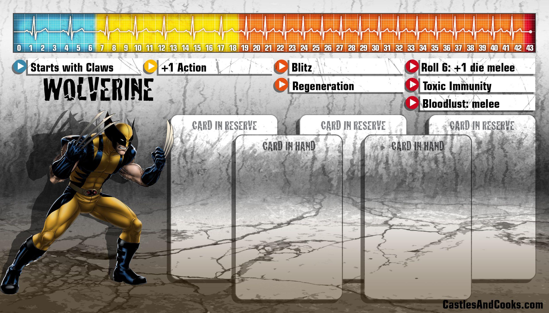 Wolverine Marvel Cards Avengers