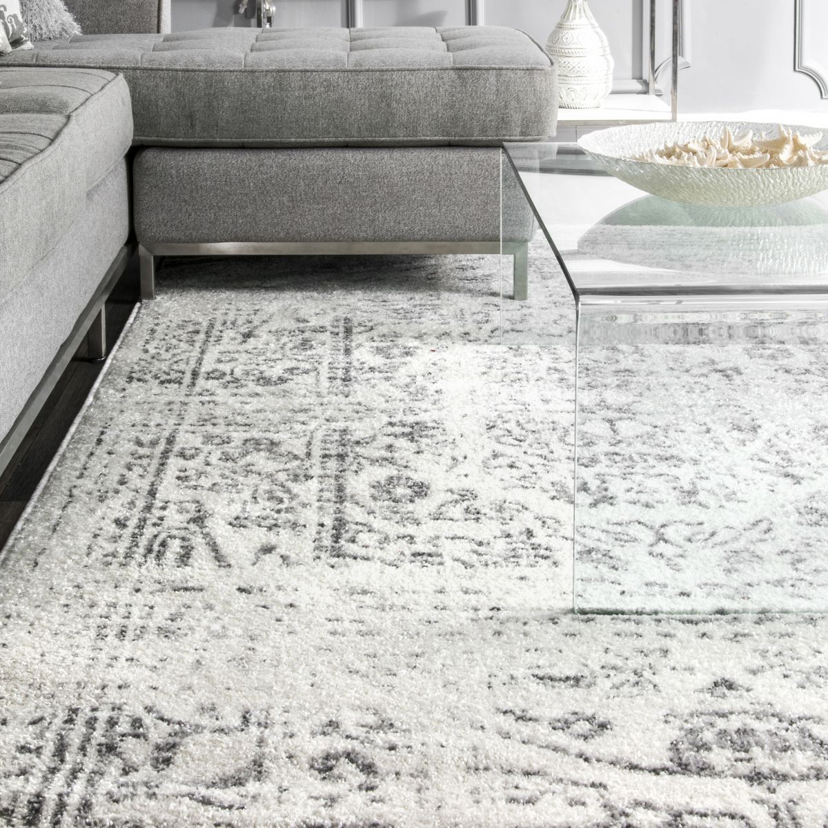 Granite Ring Around The Rosette Gray Rug In 2020 Area Rugs Cheap Area Room Rugs Rugs On Carpet