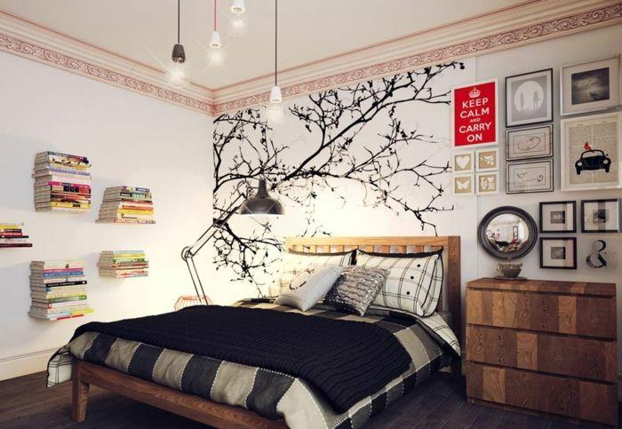 schlafzimmer einrichten einrichtungsbeispiele wohnideen tepetenidee