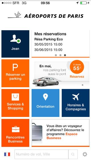 ADP Aeroport de Paris APP