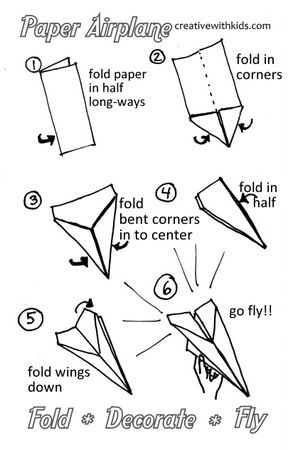 How To Make The Best Paper Airplane | Airplanes, Craft And Activities