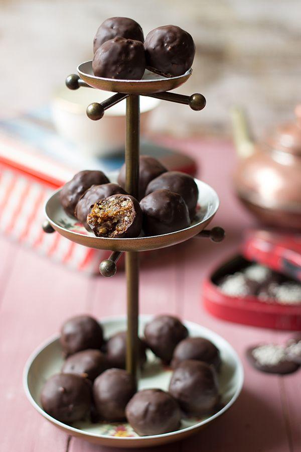 Des rochers au chocolat & fruits secs délicieux et sains !