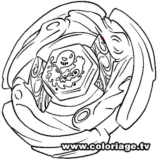 Coloriage Beyblade Imprimer.Coloriage Beyblade Aquario En Ligne Gratuit A Imprimer