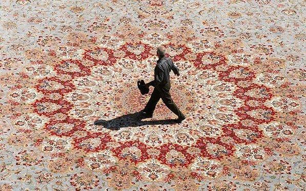 Third Largest Carpet In The World Via Neishabour Iran Iran Iranian Carpet Rugs On Carpet Carpet Runner