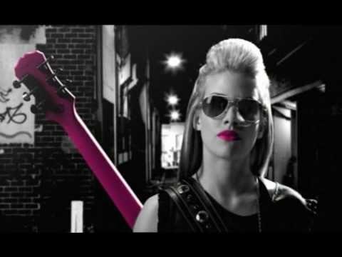 Jasmine Rae - Pink Guitar