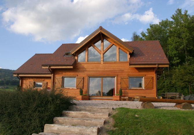 Plans Et Photos De Modles De Maisons Bois Contemporaines