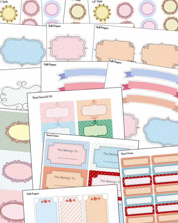 Free Stationery And Multi Purpose Labels Worldlabel Blog Labels Printables Free Printable Label Templates Free Stationery