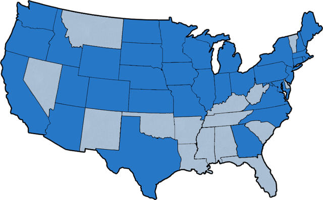 Did You Know That College Works Painting Is In Over 30 States Take A Glimpse Into All The Locations States And Cities Using Th College Works Handy Dandy Map
