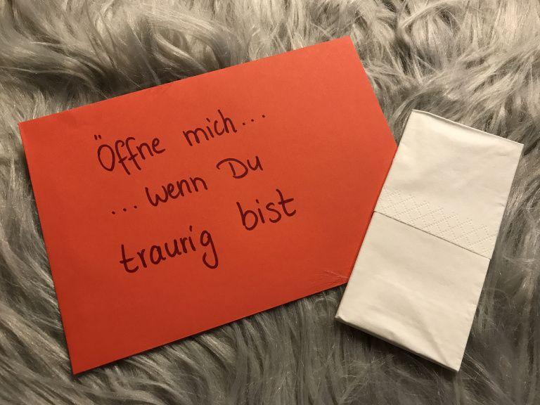 DIY: Öffne mich, wenn …. – Briefe