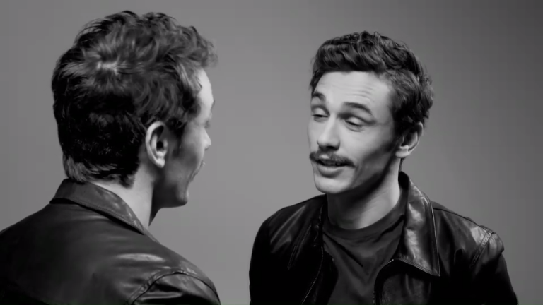 """James Franco in """"Fourteen Actors Acting: A Video Gallery of Classic Screen Types… – Celebs"""