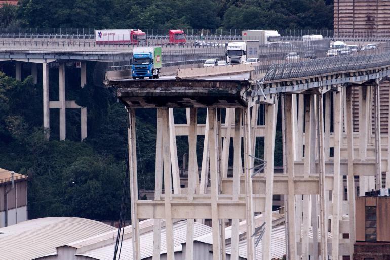 Ponte Morandi, le immagini del viadotto crollato a Genova - Foto 1 ...