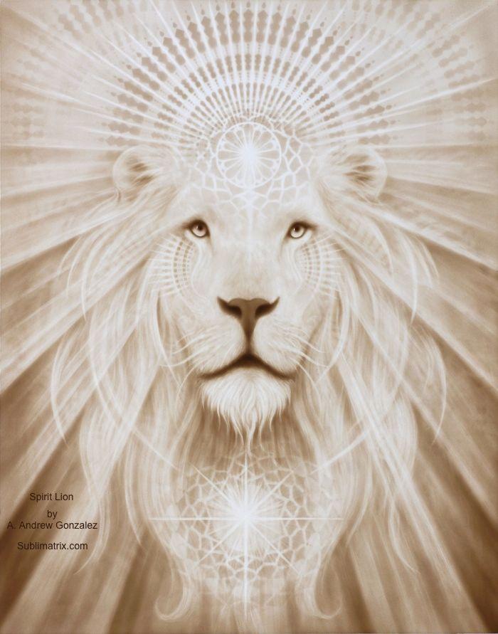 Spirit Lion by A. Andrew Gonzalez
