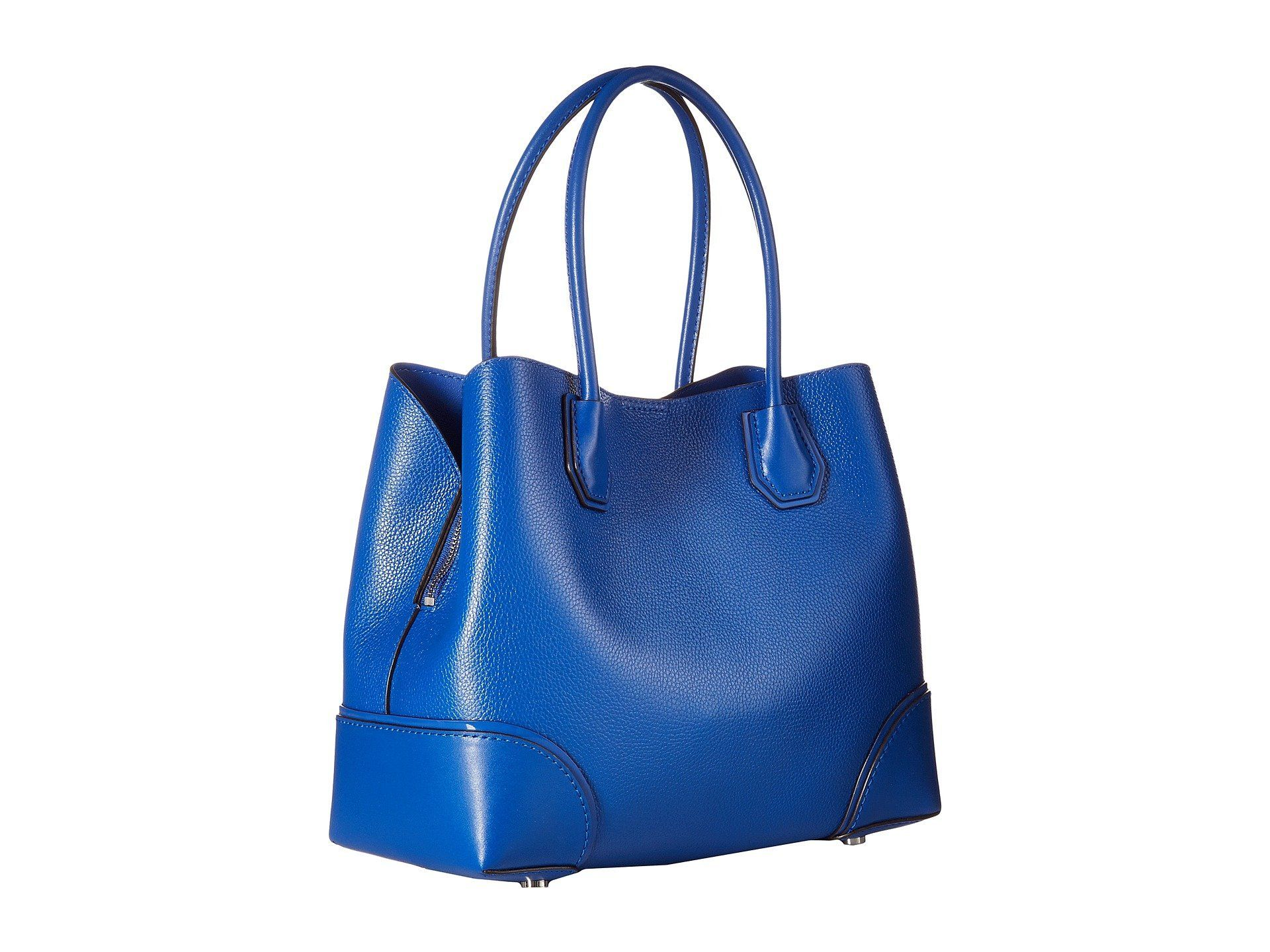 9e9bcaf51069 Michael Michael Kors Annie Medium Snap Top Tote Electric Blue    Read more  reviews of the product by visiting the link on the image.