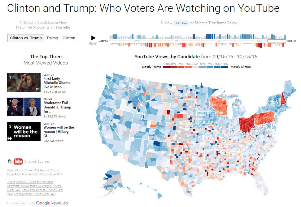 maps of political trends and election results ...