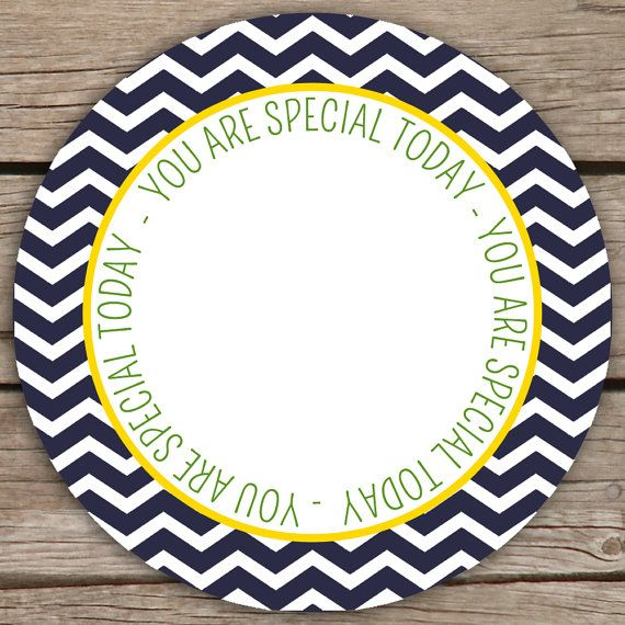 You Are Special Today Plate Custom Melamine Plate by RVparties $22.00 & You Are Special Today Plate Custom Melamine Plate by RVparties ...