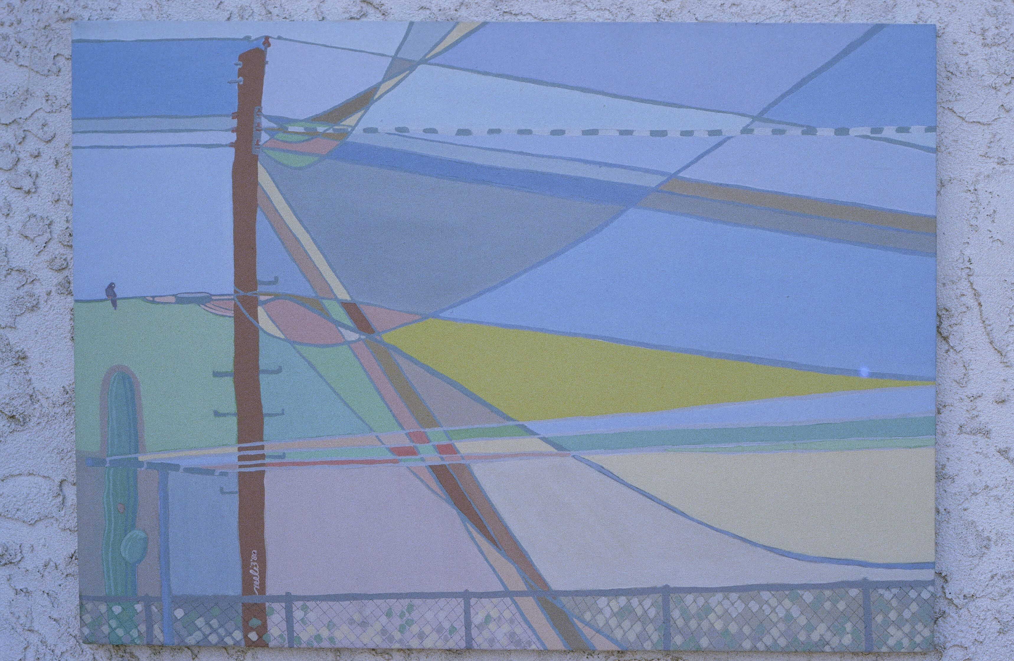 45 SPRING WIRES | Possible painting | Utility pole, Wire
