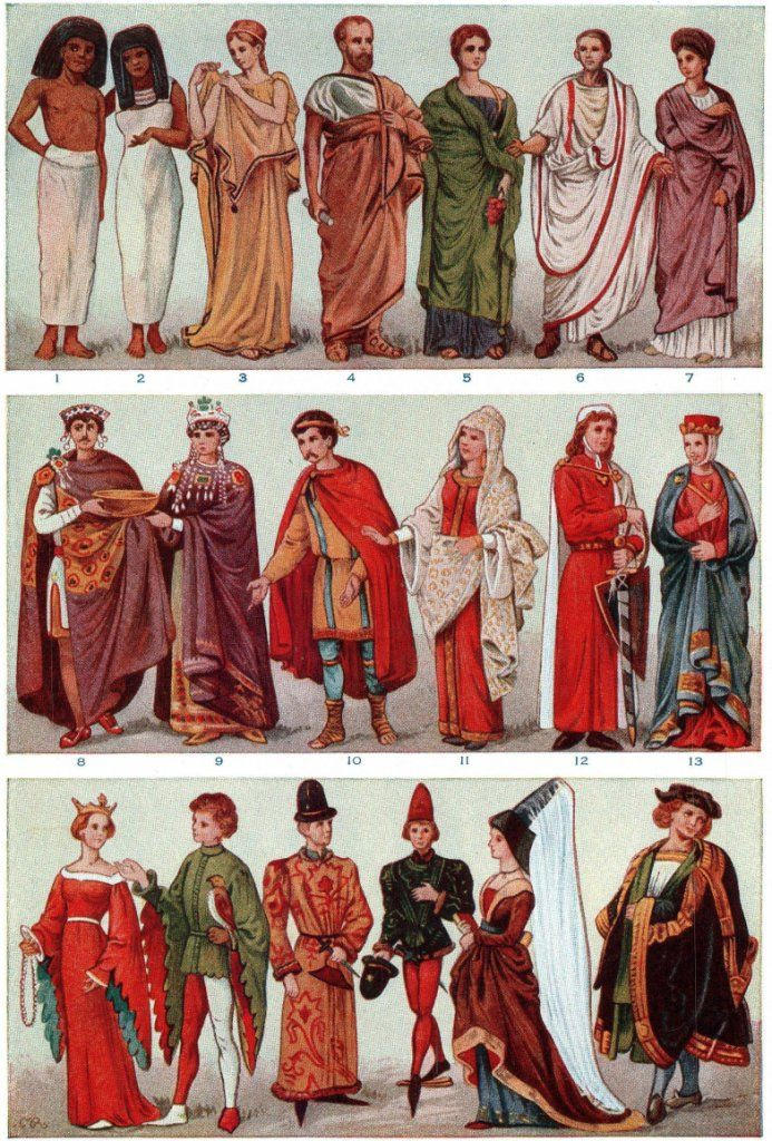 Ancient Roman Clothing | Ancient-Romans2.jpg | Fashion History ...