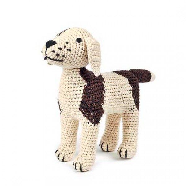 Anne-Claire Petit Häkel-Hund | Crafts | Pinterest | Hunde, Häkeln ...