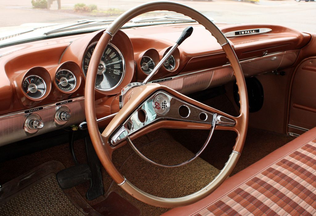 1959 Chevrolet Impala 4 Door Hardtop Sport Sedan 4 Of 6