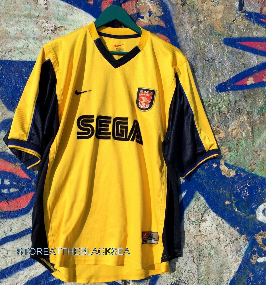 Arsenal 1999 2000 Football Soccer Shirt Jersey Trikot Camiseta Maglia Nike Xl Nike Arsenal Trikot