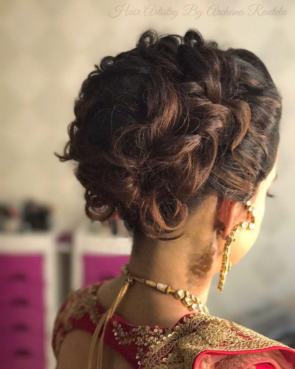 beauty of bridal bun 💋👰🏼👈🏻❤️❤️❤️😘 hair artistry