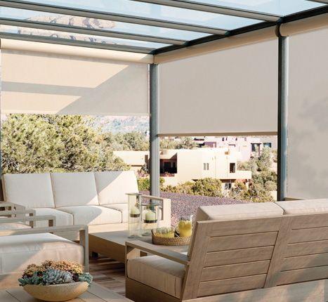 Exterior Solar Shades | Awnings | Pinterest | Solar shades, Living ...