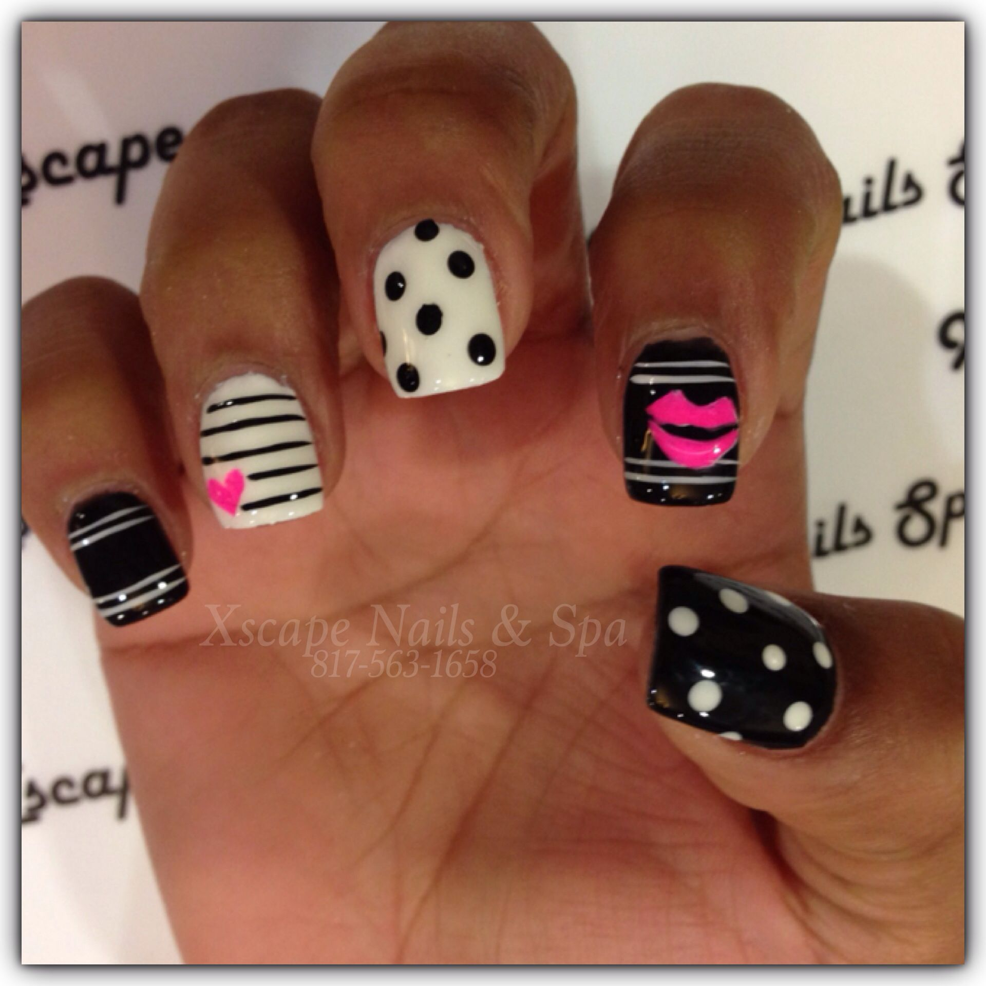 Adorable Nail Designs: Cute Nail Designs #valentine