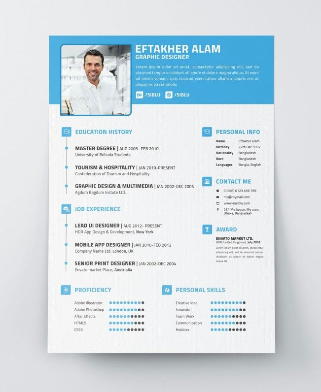 Explore Free Resume, Resume Template Free, And More!  Modern Resume Template Free