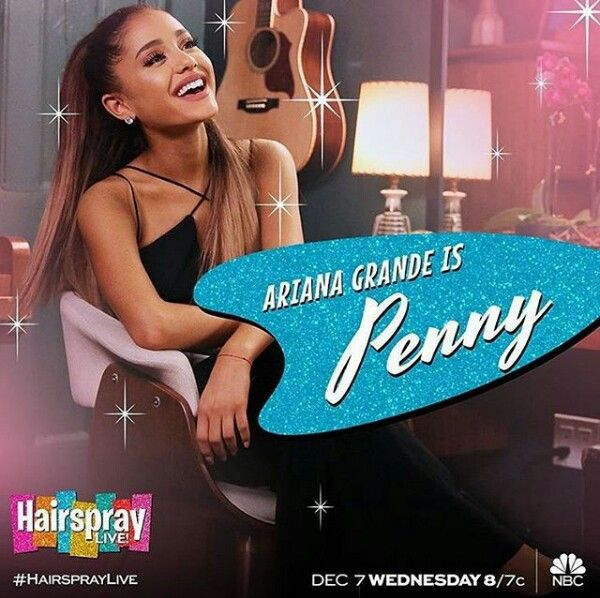 she deserves this sm!!! so excited & proud. ik it's been a dream to play penny on hairspray live since she was a lil kid