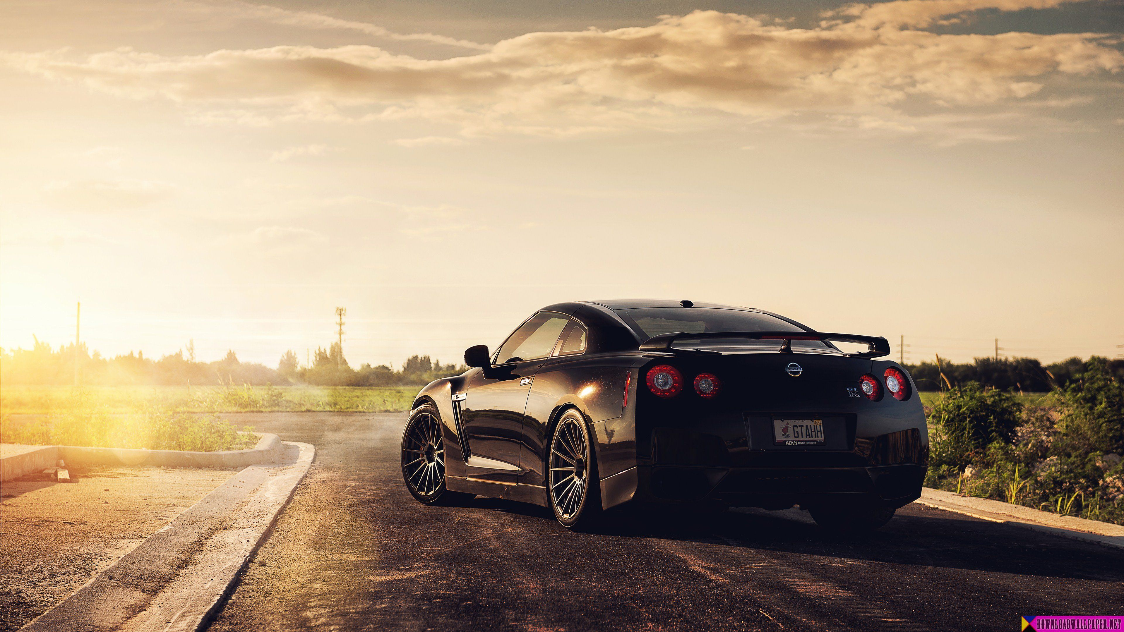 Nissan Gtr 4k Hd Wallpaper Lits Automóvil Motos Et Autos