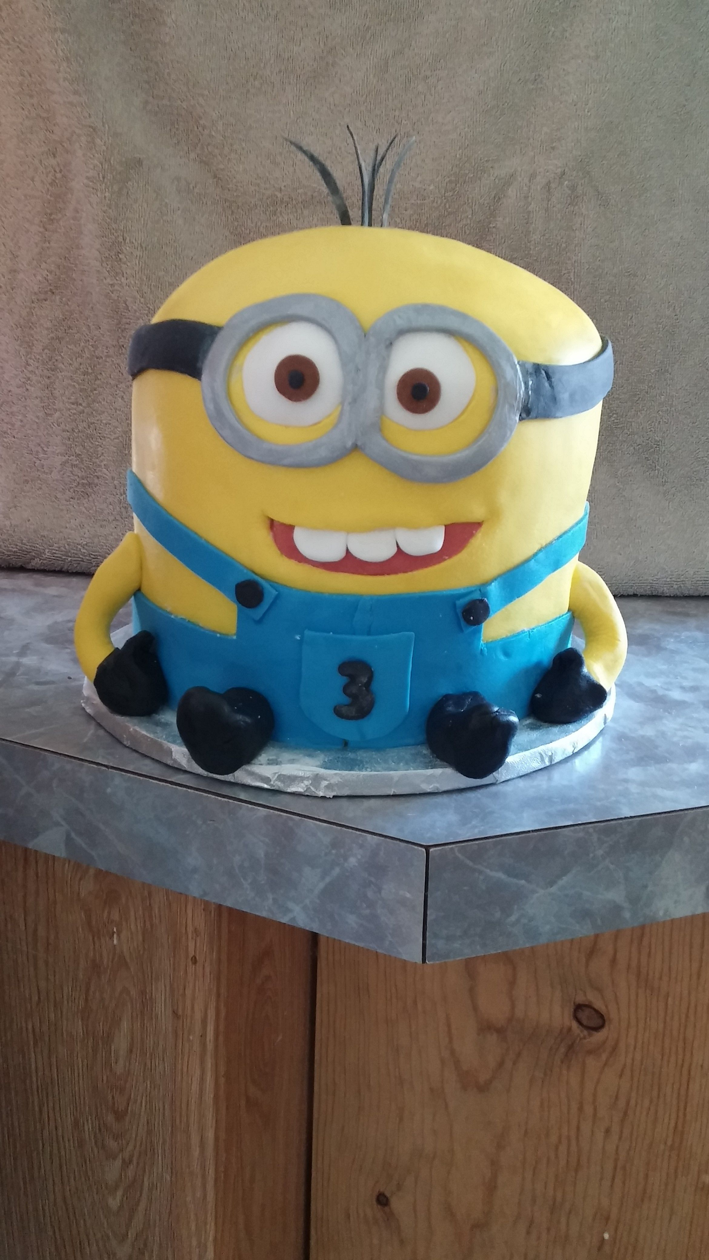 Minion Cake for a 3 year-old