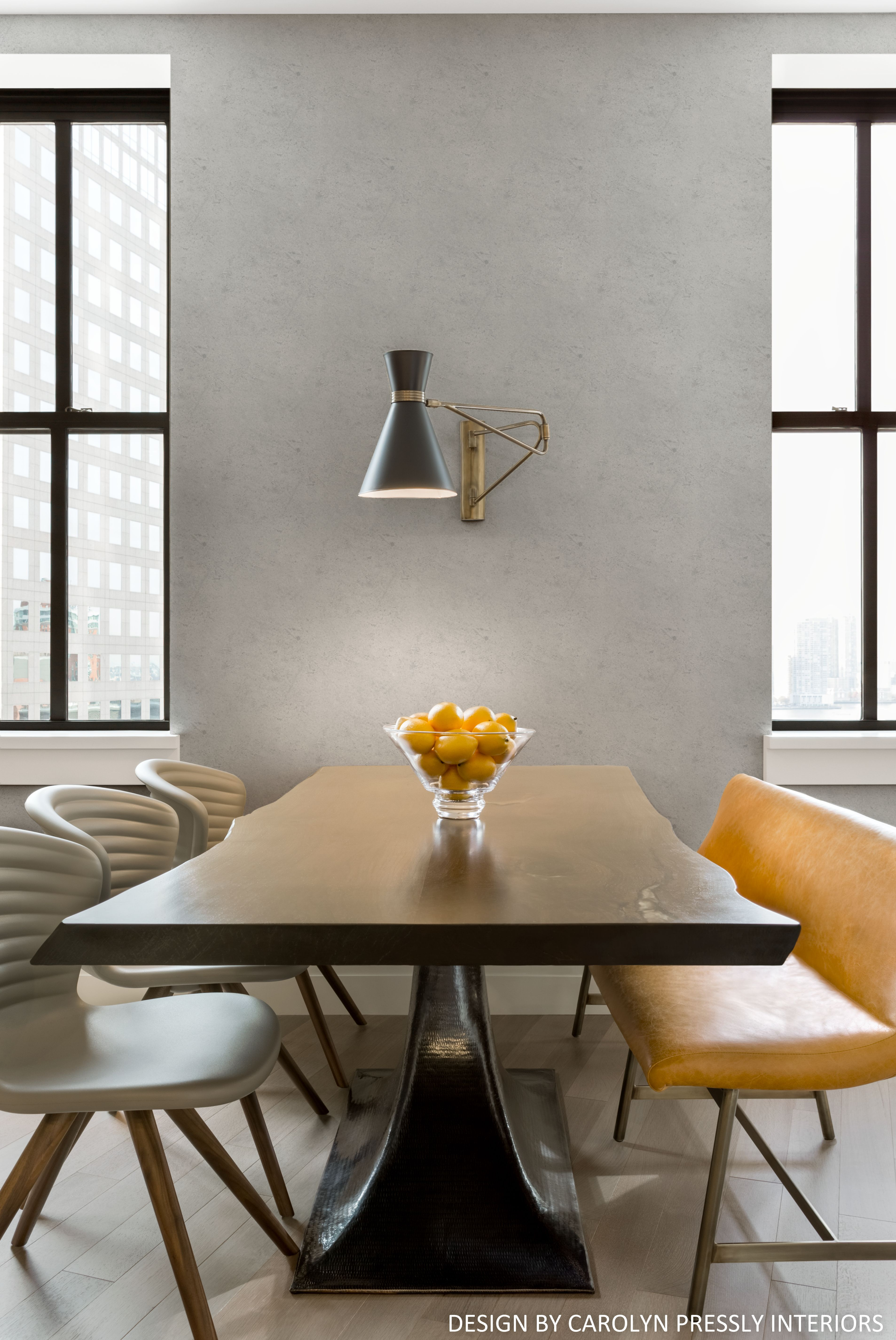 Design By Carolyn Pressly Interiors Dining In New York City