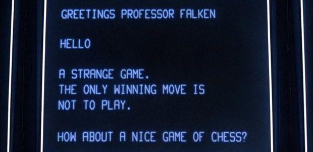 Wargames WORP computer. Dr. Falken creation and the password: Joshua