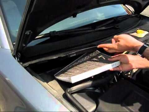 Cabin Air Filter Replacement Volkswagen Passat Volkswagen