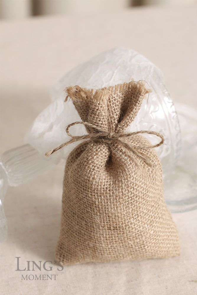 Small Hessian Favour Gift Bags Wedding Favours Uk Gift Bag Ideas