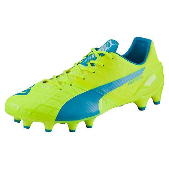 Soulier de soccer PUMA evoSPEED 1.4 FG soccer cleats #PUMA #soccer #cleats #