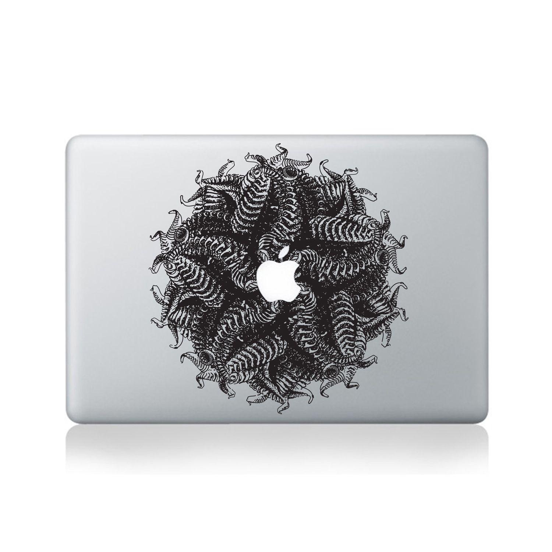 Escher Ferns Macbook Sticker Design Macbook Macbookstickers