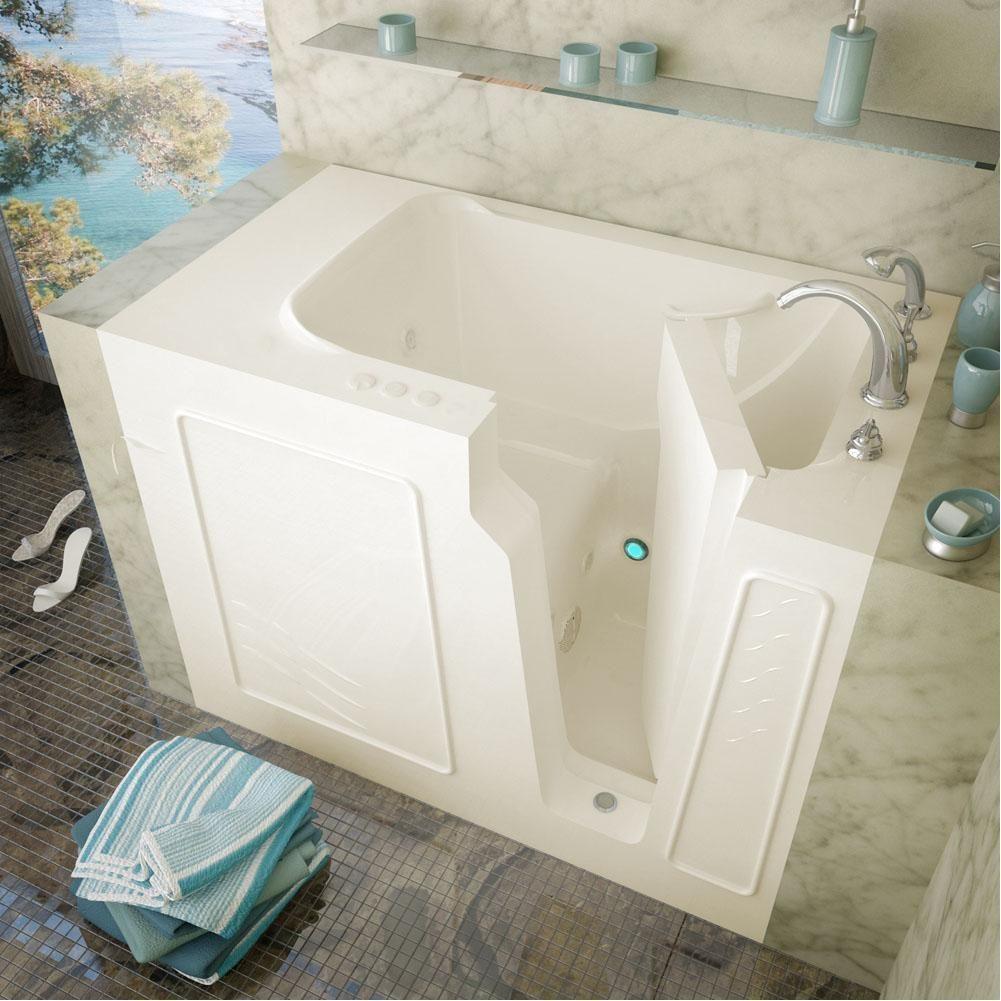 Flash Sale Meditub Walk In Right Drain Whirlpool Jetted Biscuit