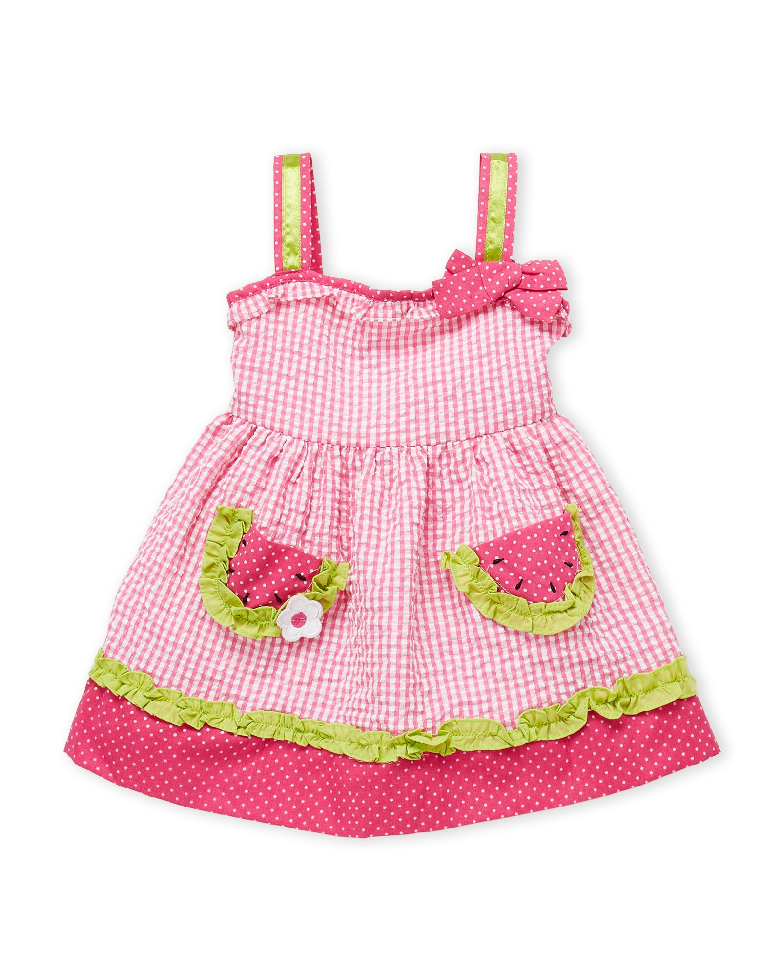 8d2f5a3e3 Samara (Toddler Girls) Gingham Watermelon Dress | *Apparel ...
