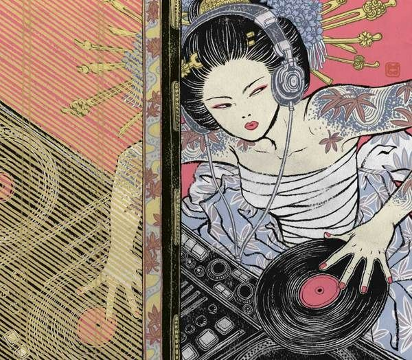 The following awesome illustrations that you will were created over the years for various clients in theme of kick-ass Asian girl heroines by Yuko Shimizu, an award-winning Japanese illustrator based in New York City.