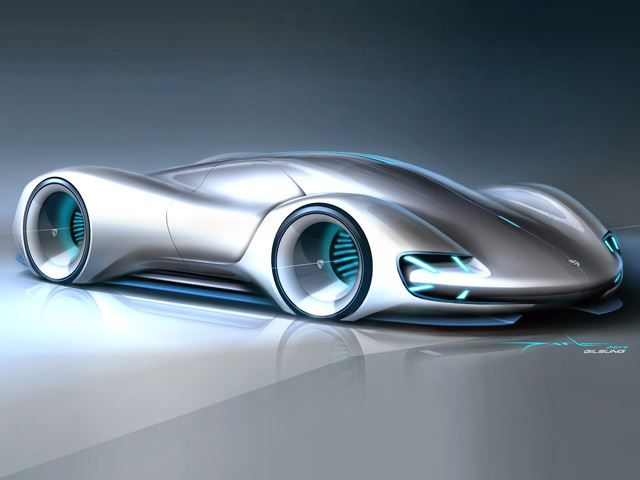 This Is What Porsches Will Look Like In 20 Years Time