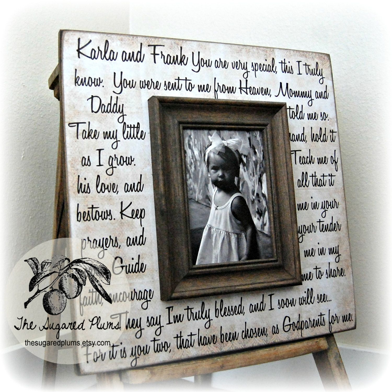 Godmother gift godfather gift godparent gift baptism gift for godmother gift godfather gift godparent gift by thesugaredplums 7500 jeuxipadfo Image collections