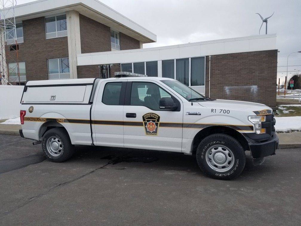 Pennsylvania State Police Police Truck State Police Emergency Vehicles