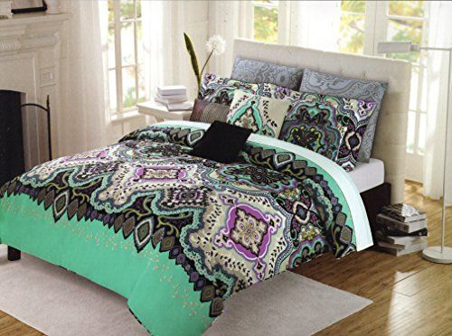 Cot In A Box Morocco Turquoise: King Duvet Cover Sets, Boho