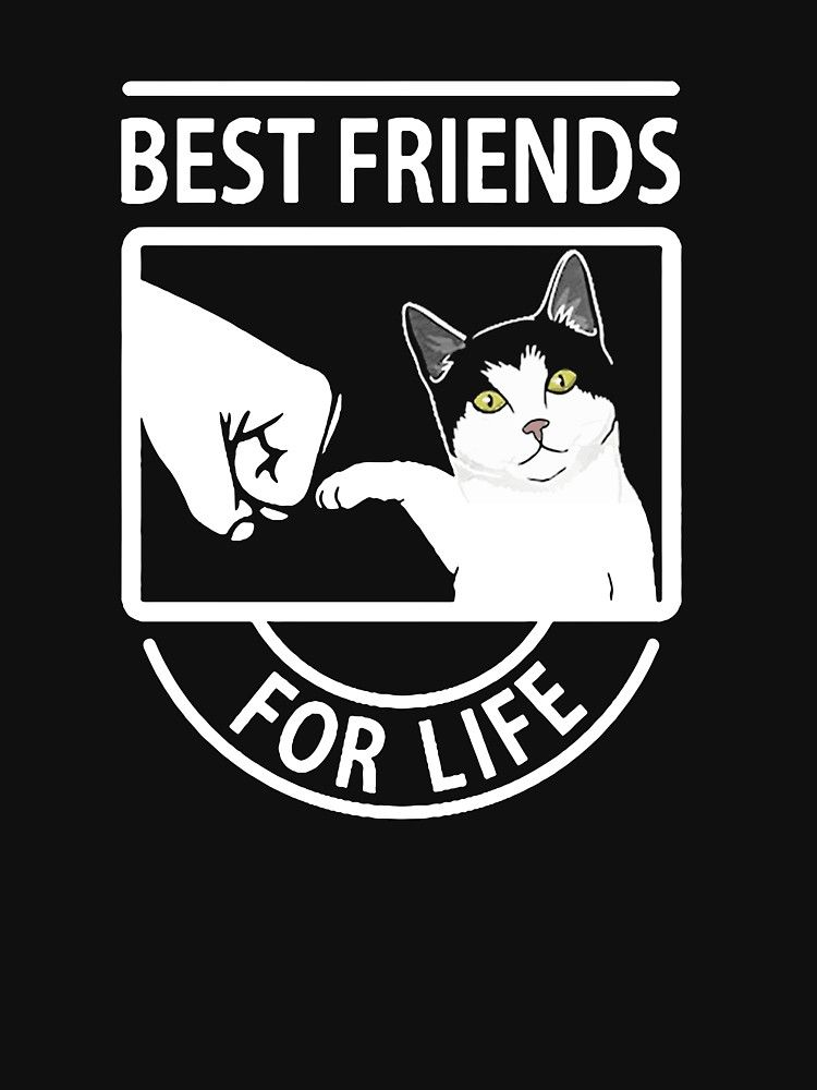 Cat Best Friends For Life Essential T-Shirt