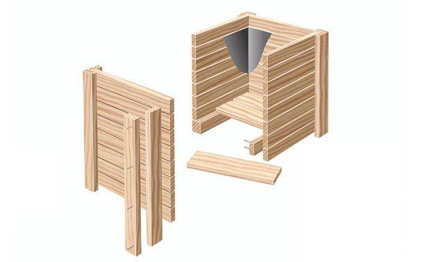 Holz-Pflanzkübel | Ideen rund ums Haus | Pinterest | Pflanzkübel ...