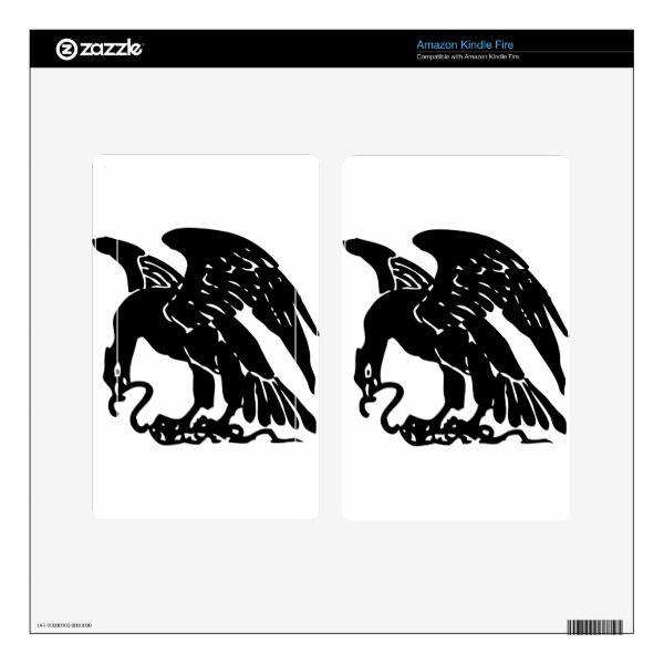 Eagle and Snake Skin For Kindle Fire Custom Brandable Electronics ...
